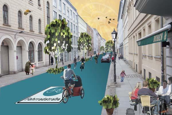 Vision Fahrradstrasse, Composing: Rabea Seibert