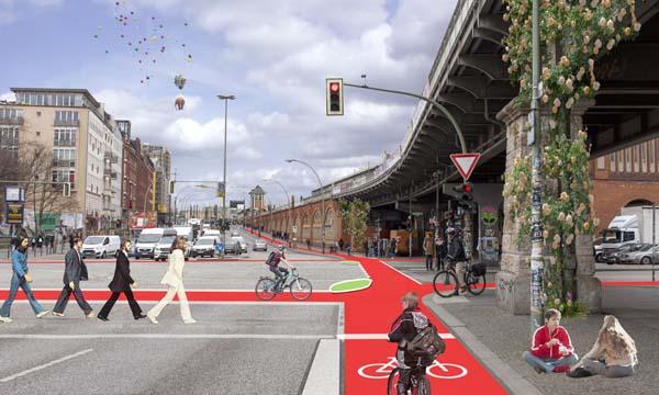 Vision Warschauer Straße (Foto: Wibke Reckzeh, Bearbeitung: Rabea Seibert)