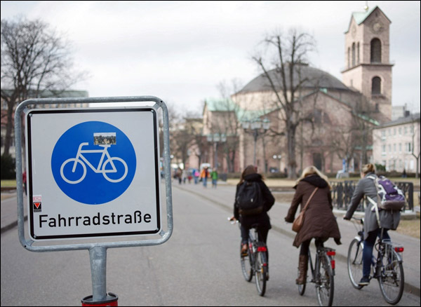 fahrradstraße_Karlsruhe